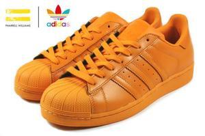 Zapatillas adidas superstar naranjas talla 40