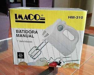 Batidora Manual Imaco Hm-310 - Nueva