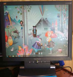Monitor Lcd 17 View Sonic