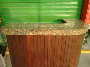 Bar esquinero en madera r stica posot class for Mueble bar esquinero