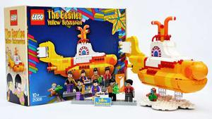 Beatles Yellow Submarine Lego Edición Exclusiva