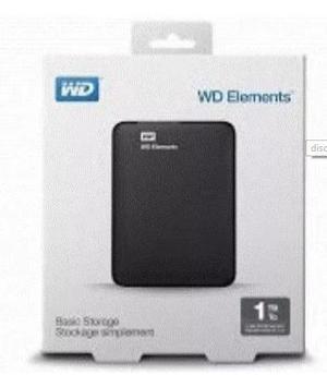 Disco Duro Externo 1tb Western Digital