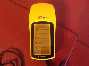 GPS GARMIN SATELITAL etrex Modelo H NUEVO EN CAJA SIN USO