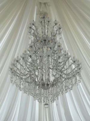 Lampara De Cristal.modelo Mariateresa Italy