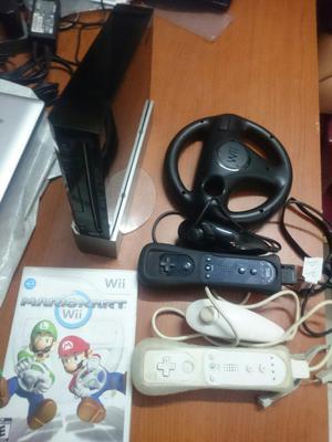 Nintendo Wii con Controles Y Un Juego