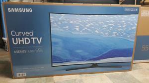 Samsung Curve 55 Pulg KUK UHD Smart Led TV Sellado