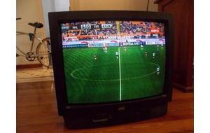 Televisor JVC 21 Pulgadas control remoto