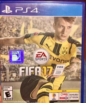 Vendo o Cambio FIFA 17 para PS4