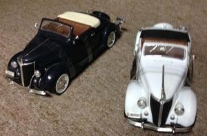 Autos De Coleccion Ford De Luxe Cabriolet