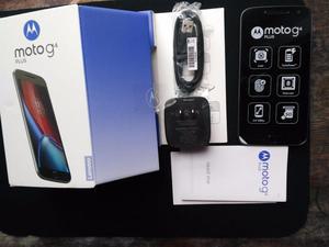 MOTOROLA G4 Plus en Caja NUEVO con Accesorios vidrio