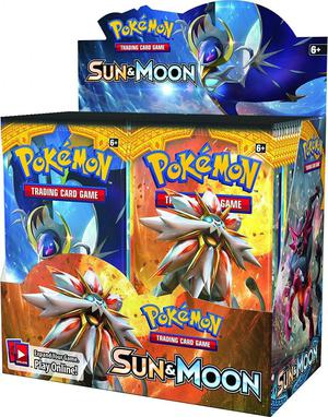 Pokemon Ex Sun And Moon Booster Display Sobres