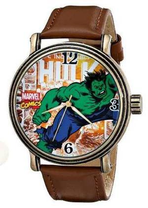 Reloj Hulk Marvel Accesorio Juguete Comic