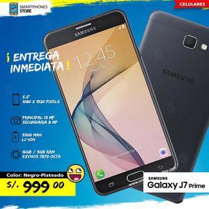 Samsung Galaxy J7 PRIME 16GB Libre de Fábrica Nuevo Caja