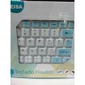 Teclado Flexible Usb Multimedia Lavable Resistente