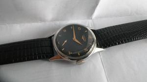 vintage, reloj longines a cuerda calibre z funcionando