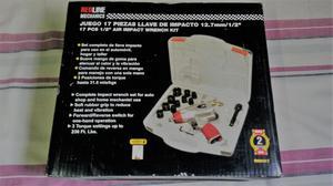 Kit Pistola neumática ò llave de impacto marca Redline.