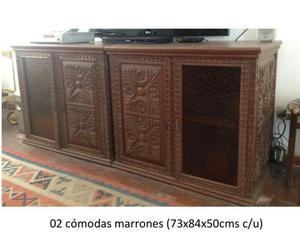 Muebles tallados a mano en madera caoba lima posot class for Muebles tallados en madera