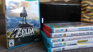 Nintendo Wii U 7 juegos Mando Pro Wiimote