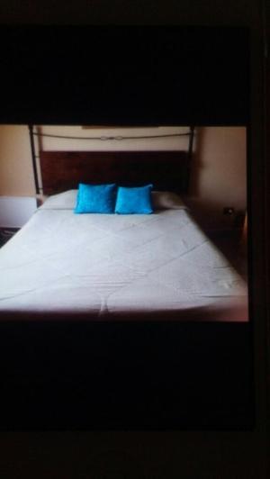 Cabecera para cama queen remato posot class for Cama queen rosen