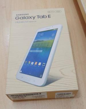 Samsung Galaxy Tab E 7 Blanco