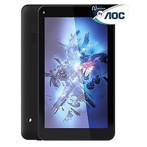 Tablet Aoc 7 Nit-704qn 1gb De Ram, 8gb Memoria Color Negro