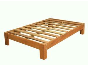Tarima 2 plazas en buen estado posot class for Tarimas de madera para cama