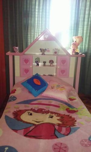 Remato bonito juego de dormitorio de la barbie 500 posot for Juego de dormitorio usado