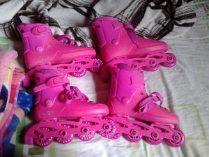 2 pares de patines usados pero parado