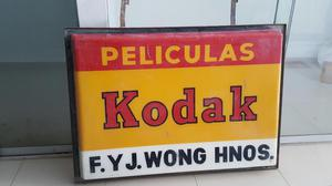 Antigua Publicidad Kodak Grande Gratis Envio