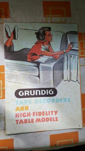 Antigua Publicidad de Radios Grunding Made In Germany Gratis