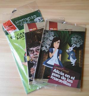Lote 03 Libros Plan Lector Yo Leo, Originales Nuevos y