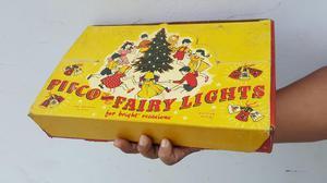 Antiguas Luces de Navidad Made In England Gratis Envio