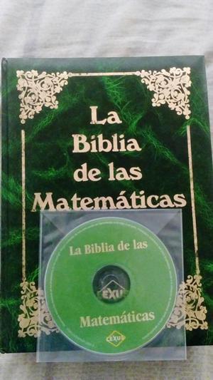 REMATO ENCICLOPEDIA LA BIBLIA DE LAS MATEMATICAS NUEVO CON