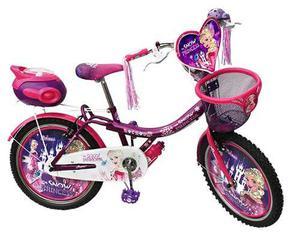 Bicicleta Para Niña De Metal Aro 20 Con Diseño Princess