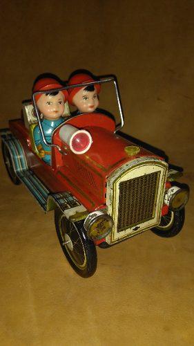 Juguete Antiguo Carro Transformer Posot Class