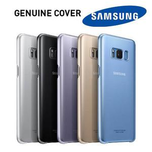 Oficial Case Clear Cover Samsung Galaxy S8, S8 Plus Original