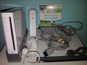 Remato Nintendo Wii Completo Con Juego Original