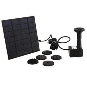 mini bomba de agua solar y sumergible 12V, pesceras,