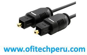Cable De Audio Digital Óptico / Toslkin De 1.8 Metro