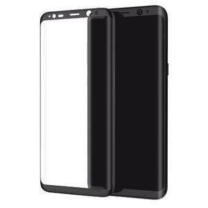 Mica De Vidrio 3d Samsung S8 Y S8 Plus Negro Y Dorado Oferta