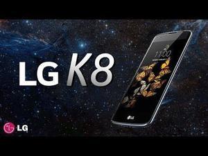 Lg K8 Lte 4g Negro Azulado Tienda San Borja. Garantía.