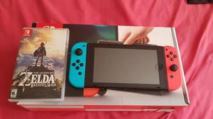 Nintendo Switch Con Zelda Y Garantía A  Soles