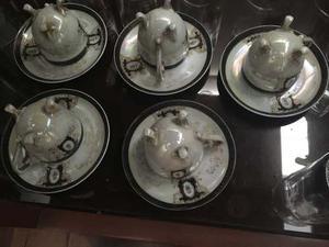 Porcelana China Juego De Tazas