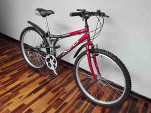 REMATO BICICLETA MONTAÑERA ARO 26 AROS DE ALUMINIO MUY BUEN