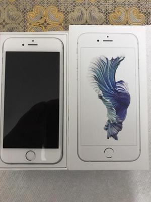 iphone 6s 16gb plateado  como nuevo libre de todo todo