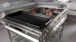 Aspersores tipo volcan de baja presion de bronce posot class - Plancha de cocina industrial ...