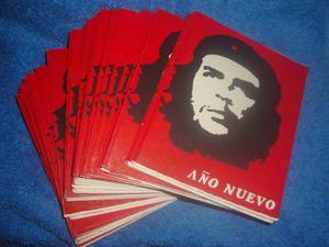 El Che Guevara - Lote 80 Tarjetas De Año Nuevo Años 70s