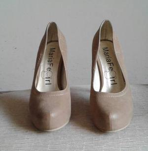 Lindos Zapatos De Vestir Talla 37