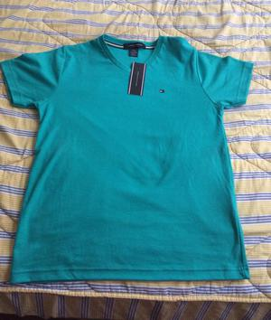 Polo Tommy Hilfiger Verde Talla S