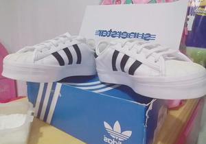 Zapatillas de Mujer Superstar Blancas